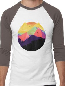 Oh the mountains Men's Baseball ¾ T-Shirt