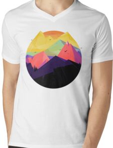 Oh the mountains Mens V-Neck T-Shirt