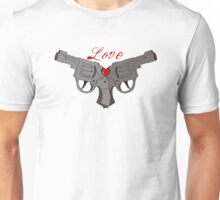 Love guns Unisex T-Shirt