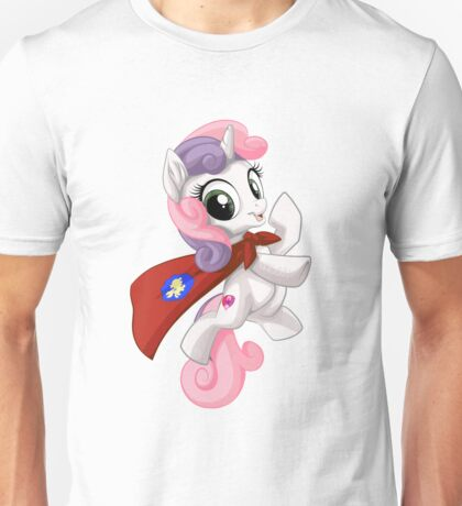 Sweetie Belle Caped Crusader Unisex T-Shirt