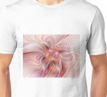 Abstract Butterfly, Colorful Fantasy Fractal Art Unisex T-Shirt