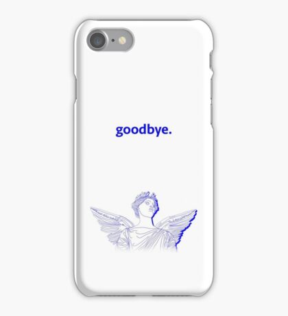 goodbye. - NET ART / SEA PUNK iPhone Case/Skin