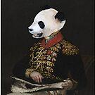 Fancy Panda by yvonne willemsen