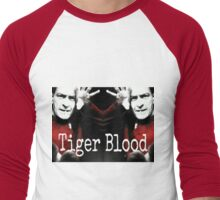 Charlie Sheen Tiger Blood Men's Baseball ¾ T-Shirt