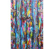 The Old Doors Photographic Print