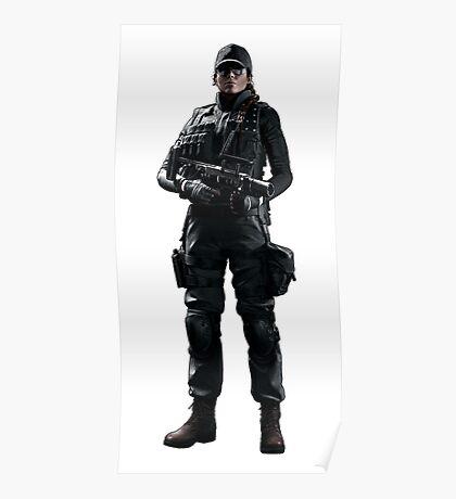 Ash Rainbow 6 Siege - full Poster