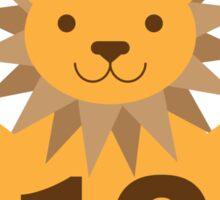 Baby Growth - Lion (10 Months) Sticker