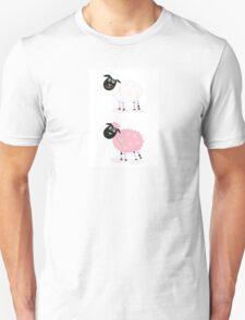 Cartoon sheep. Vector Illustration of funny sheep Unisex T-Shirt
