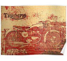 Triumph - Vintage Motorcycle Poster