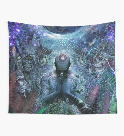 Gratitude For The Earth And Sky, 2015 Wall Tapestry