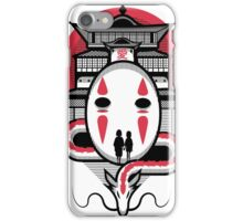 Spirited Haku and Chihiro iPhone Case/Skin