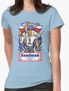 ECW The Sandman T - Shirt Womens Fitted T-Shirt
