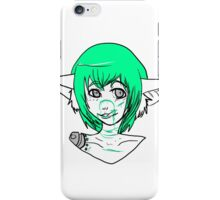 Green blood  iPhone Case/Skin