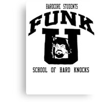 Terry Funk T - Shirt Canvas Print