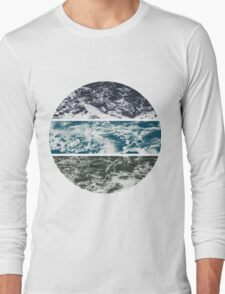 Saltwater Tryptych Var. II Long Sleeve T-Shirt