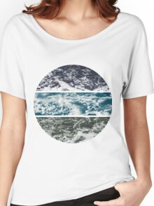 Saltwater Tryptych Var. II Women's Relaxed Fit T-Shirt