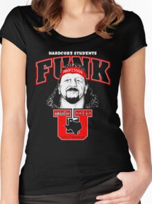 "Terry Funk T - Shirt ""Funk U"" v2 Women's Fitted Scoop T-Shirt"