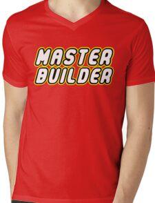 MASTER BUILDER Mens V-Neck T-Shirt