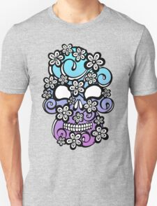 Floround Skull Ombre Unisex T-Shirt