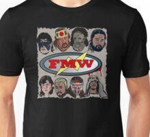 FMW Tribute - Terry Funk, Sabu, Hayabusa, Onita + more Unisex T-Shirt