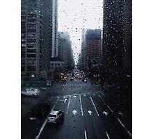 Raining drop Photographic Print