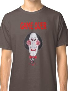 Horror Movie Game Over Caricature Classic T-Shirt