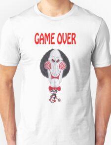 Horror Movie Game Over Caricature Unisex T-Shirt