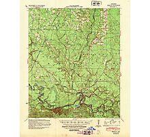 USGS TOPO Map Arkansas AR Moro Bay 260207 1939 62500 Photographic Print
