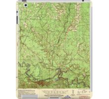 USGS TOPO Map Arkansas AR Moro Bay 260207 1939 62500 iPad Case/Skin