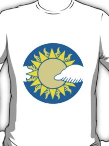 Sun and clouds T-Shirt
