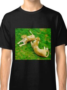 Two Lionesses Reclined Classic T-Shirt