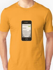 Death by Texting iPhone Edition Unisex T-Shirt