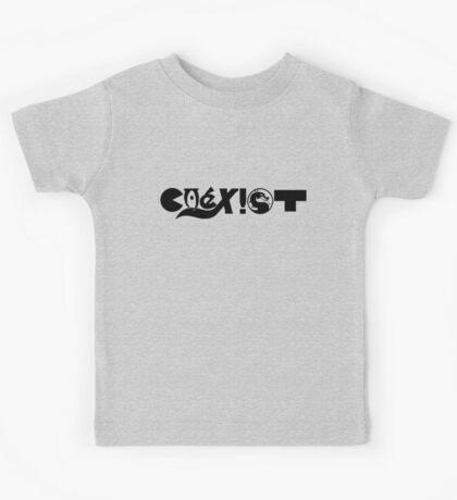 COEXIST - Gamer Edition Kids Tee