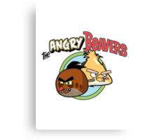 The Angry Beavbirds Canvas Print