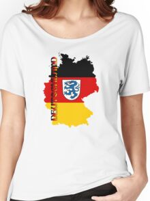 Deutschland Wappen Ingolstadt Women's Relaxed Fit T-Shirt