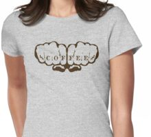 Coffee!! Womens Fitted T-Shirt