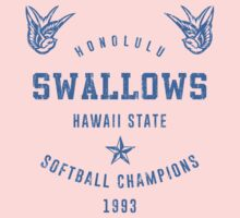 Honolulu Swallows softball Kids Clothes