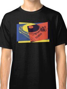 Vintage Turntable Pop Art Classic T-Shirt