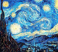 starry night  by alana austin