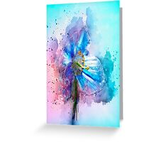 Poppy Art Greeting Card