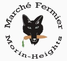 Marché Fermier Morin-Heights Coyote logo Kids Clothes