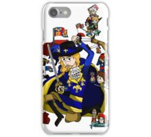 Renaissance Map of France iPhone Case/Skin