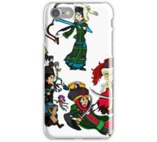 Renaissance Map of The Hordes iPhone Case/Skin