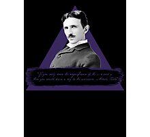 Nikola Tesla - 369 Photographic Print
