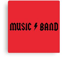 Music Band Merchandise Canvas Print