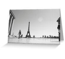 Paris. Film Camera Photography ® Greeting Card