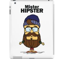 Mister Hipster iPad Case/Skin