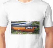 Orange and Blue Unisex T-Shirt