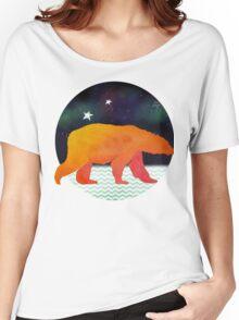 Technicolour safari - Aurora bear Women's Relaxed Fit T-Shirt