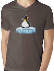 lonely penguin Mens V-Neck T-Shirt